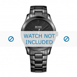 Hugo Boss pulseira de relogio HB-269-1-49-2792 / HB1513223 Cerâmica Preto