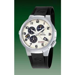 Pulseira de relógio Jaguar J1202-01 Borracha Preto 20mm