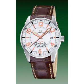 Pulseira de relógio Jaguar J628/1 Couro croco Marrom