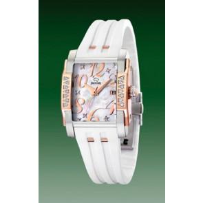 Pulseira de relógio Jaguar J648-1 Borracha Branco
