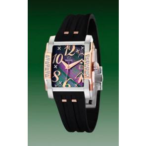 Pulseira de relógio Jaguar J648-2 Borracha Preto