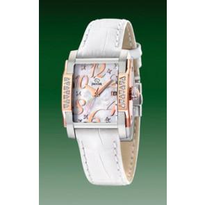 Pulseira de relógio Jaguar J648-3 Couro Branco
