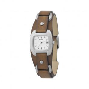 Pulseira de relógio Fossil JR8897 Couro Marrom 12mm
