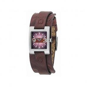 Pulseira de relógio Fossil JR9515 Couro Marrom 12mm