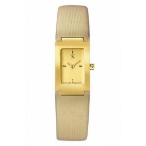 Pulseira de relógio Calvin Klein K604022453 / K0411224 Couro Bege