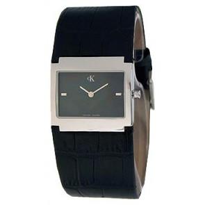 Pulseira de relógio Calvin Klein K04281.46 / K600.028.750 Couro Preto
