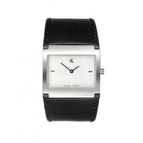 Pulseira de relógio Calvin Klein K0428126-K600.026.250 Couro Preto 30mm 25aecdcebc