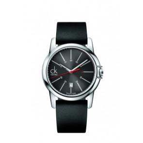 Pulseira de relógio Calvin Klein K0A215 (K604.000.005) Borracha Preto