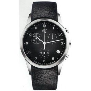 Pulseira de relógio Calvin Klein K600058950 / K2227102 Couro Preto