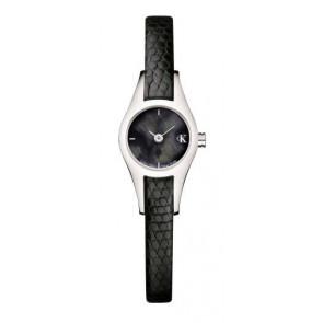 97d7b8b28cd Pulseira de relógio Calvin Klein K2723146 Couro Preto