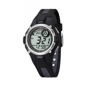 Pulseira de relógio Calypso K5558/6 Plástico Preto