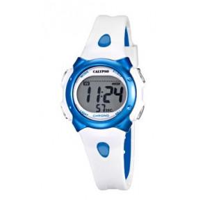 Pulseira de relógio Calypso K5609-4 Borracha Branco