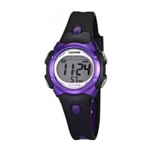 Pulseira de relógio Calypso K5609-5 Borracha Preto