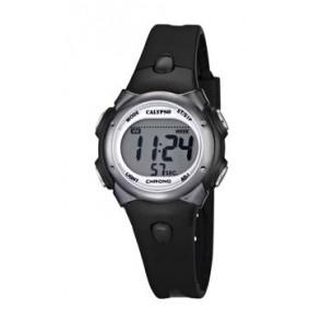 Pulseira de relógio Calypso K5609-6 Borracha Preto