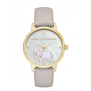 Kate Spade New York pulseira de relogio KSW1208 / METRO Couro Cinza
