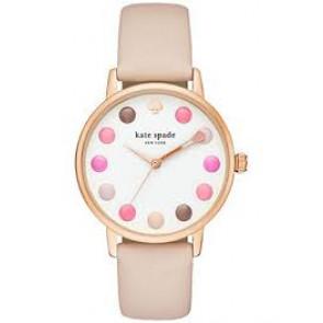 Pulseira de relógio Kate Spade New York KSW1253 Couro Bege 16mm