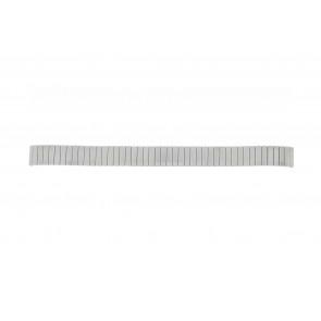Lasita pulseira de relogio Fixoflex LA-12 Metal Prata 12mm