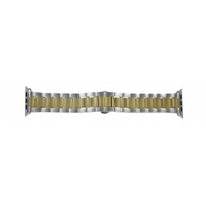 Apple (modelo de substituição) pulseira de relógio LS-AB-106 (Bi-color) Aço Dourado 42mm