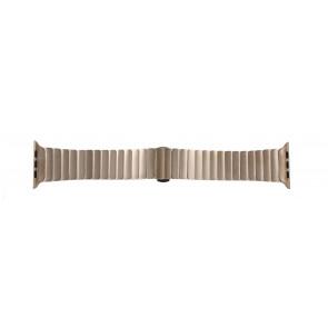 Apple (modelo de substituição) pulseira de relógio LS-AB-107 Aço Dourado (Rosé) 42mm