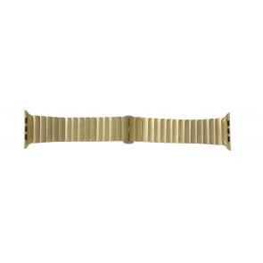 Apple (modelo de substituição) pulseira de relógio LS-AB-107 Aço Dourado 42mm