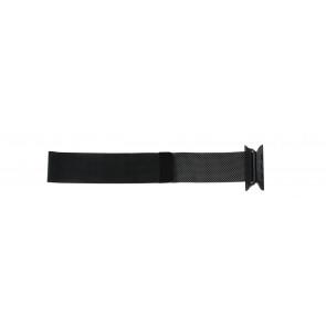 Apple (modelo de substituição) pulseira de relógio LS.AB.108 Aço Preto 42mm