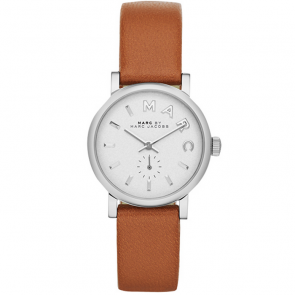 Pulseira de relógio Marc by Marc Jacobs MBM1270 Couro liso Bege