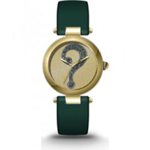 Pulseira de relógio Luminox MJ1489 Couro Verde 18mm