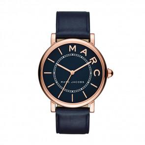 Pulseira de relógio Marc by Marc Jacobs MJ1534 Couro Azul 18mm