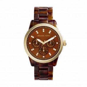 Pulseira de relógio Michael Kors MK5038 Plástico Marrom