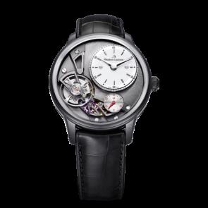 Pulseira de relógio Maurice Lacroix Gravity ML550-000256 Pele de crocodilo Preto