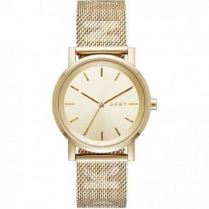 Pulseira de relógio DKNY NY2621 Aço Banhado a ouro 18mm