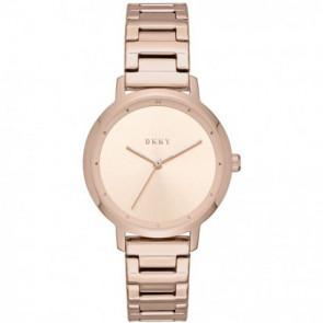 ba2519d4368 Pulseira de relógio DKNY NY2637 Aço Vinho rosé 14mm