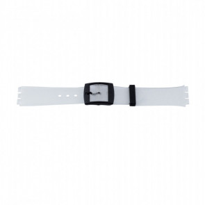 Pulseira de relógio WoW P51.14 Plástico Transparente 17mm