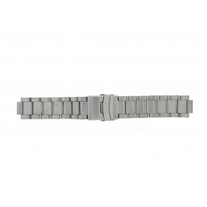 Q&Q pulseira de relogio QQ13ST-ZI-ST Metal Prata 13mm