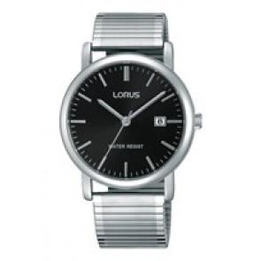 Lorus pulseira de relogio RG857CX9 / VJ32 X246 / RHA042X Metal Prata 19mm