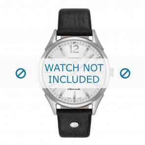 Roamer pulseira de relogio 550660-41-25-05 Couro Preto 18mm