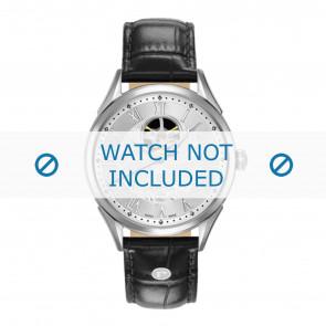 Pulseira de relógio Roamer 550661-41-22-05 Couro Preto 20mm