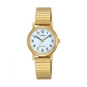 Pulseira de relógio Lorus RRS78VX9 / V501 X471 / RHN147X Aço Banhado a ouro 13mm