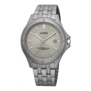 Pulseira de relógio Lorus VX32-X384-RXD75EX9 Titânio Titânio