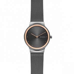 Pulseira de relógio Skagen SKW2707 Aço Cinza antracite 16mm