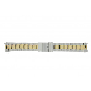 Prisma pulseira de relogio STBI22 Metal Bicolor 22mm