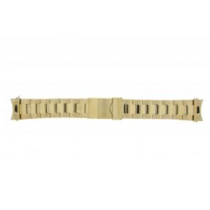 Prisma pulseira de relogio STD22 Metal Ouro 22mm