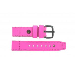 Pulseira de relógio Superdry SYL115P Couro Rosa 20mm