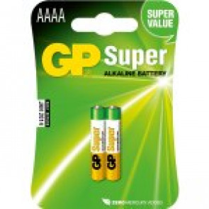 GP Bateria Super Alkaline AAAA - 1.5v