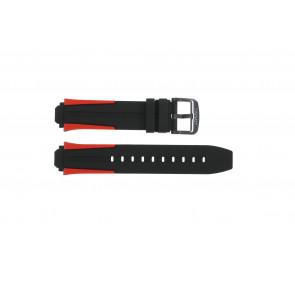 Pulseira de relógio Tissot T1114173744101A / T603040970 Silicone Multicolorido