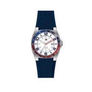 Pulseira de relógio Tommy Hilfiger TH1790885 Borracha Azul