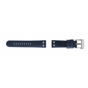 Pulseira de relógio TW Steel TWB400 Couro Azul 22mm