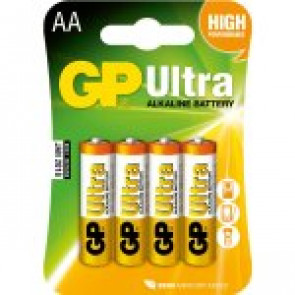 GP Bateria Ultra Alkaline AA LR06 - 1.5v