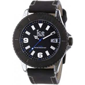 Pulseira de relógio VTBKB.B.L.13 / VTBK.BB.L.13 Couro Preto 24mm