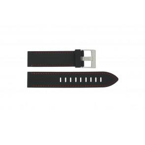 Pulseira de relógio Universal XH19 Silicone Preto 22mm